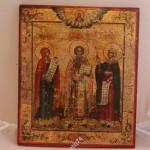 Трое Святых. Невьянск. Датированная, подписная