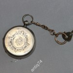 часы карманные Tissot швейцария. Серебро