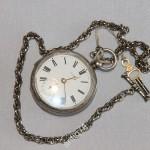часы карманные швейцария. Серебро