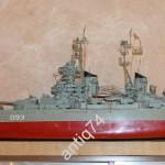 модель боевого корабля