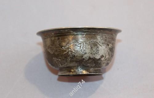 солонка антикварная серебро