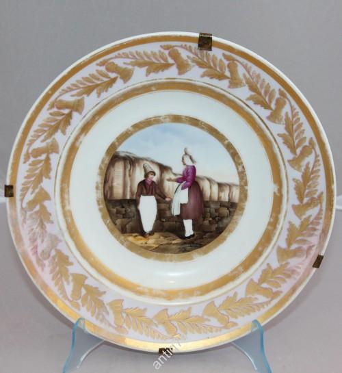 Живописная тарелка Гарднер.
