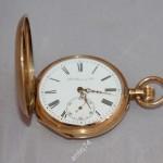 золотые карманные часы Мозер