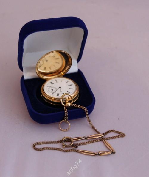 Часы карманные золотые Швейцария