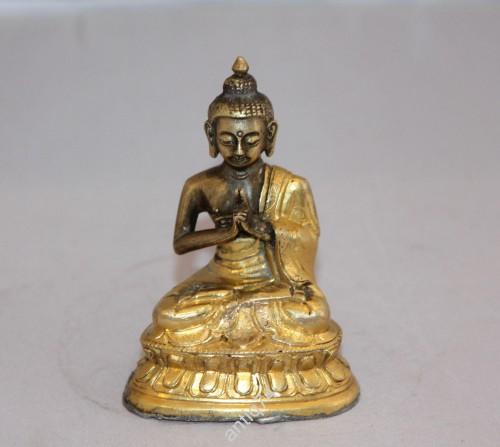 Будда Нагешварараджа. Тибет, 19 век