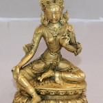 Будда Зеленая Тара. 17 век