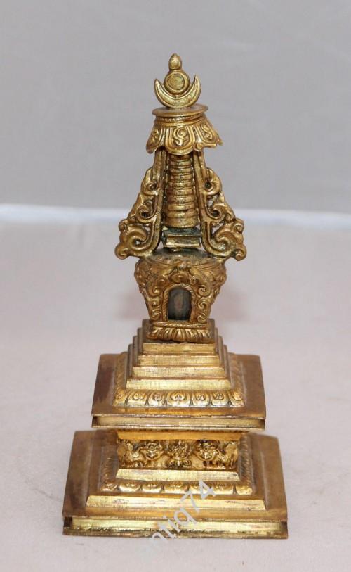 Ступа. Домик для духов. Далайпор. 19 век