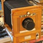 деревянная фотокамера ФК 13х18. 1963 год. Тренога.