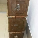 фанерный чемодан, саквояж.