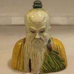 Даосский мудрец. Фарфор. Старый Китай