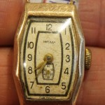 Часы Звезда. Золото 585 проба. СССР. На ходу