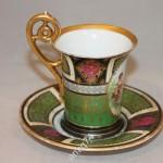 Чайная, кофейная пара. старая Австрия