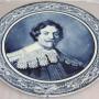 настенная тарелка Рембрандт. Антон Мелем Бонн. Германия