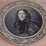 настенная тарелка Ван Дейк. Антон Мелем Бонн. Германия