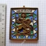 пластика Георгий в треугольниках №2. Эмали