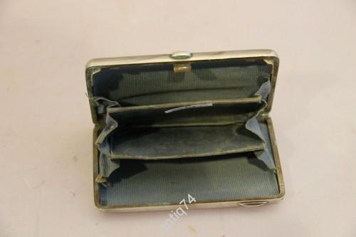 Красивый кошелек в отличной сохранности. Серебро 84 проба