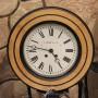 Круглые настенные часы Мозер, до 1917 года
