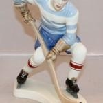 Огромный хоккеист. Чехословакия