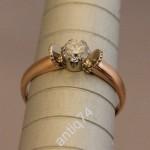 Кольцо с бриллиантом. 0,47 карата