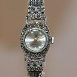 Красивые женские часы. Серебро 925 проба