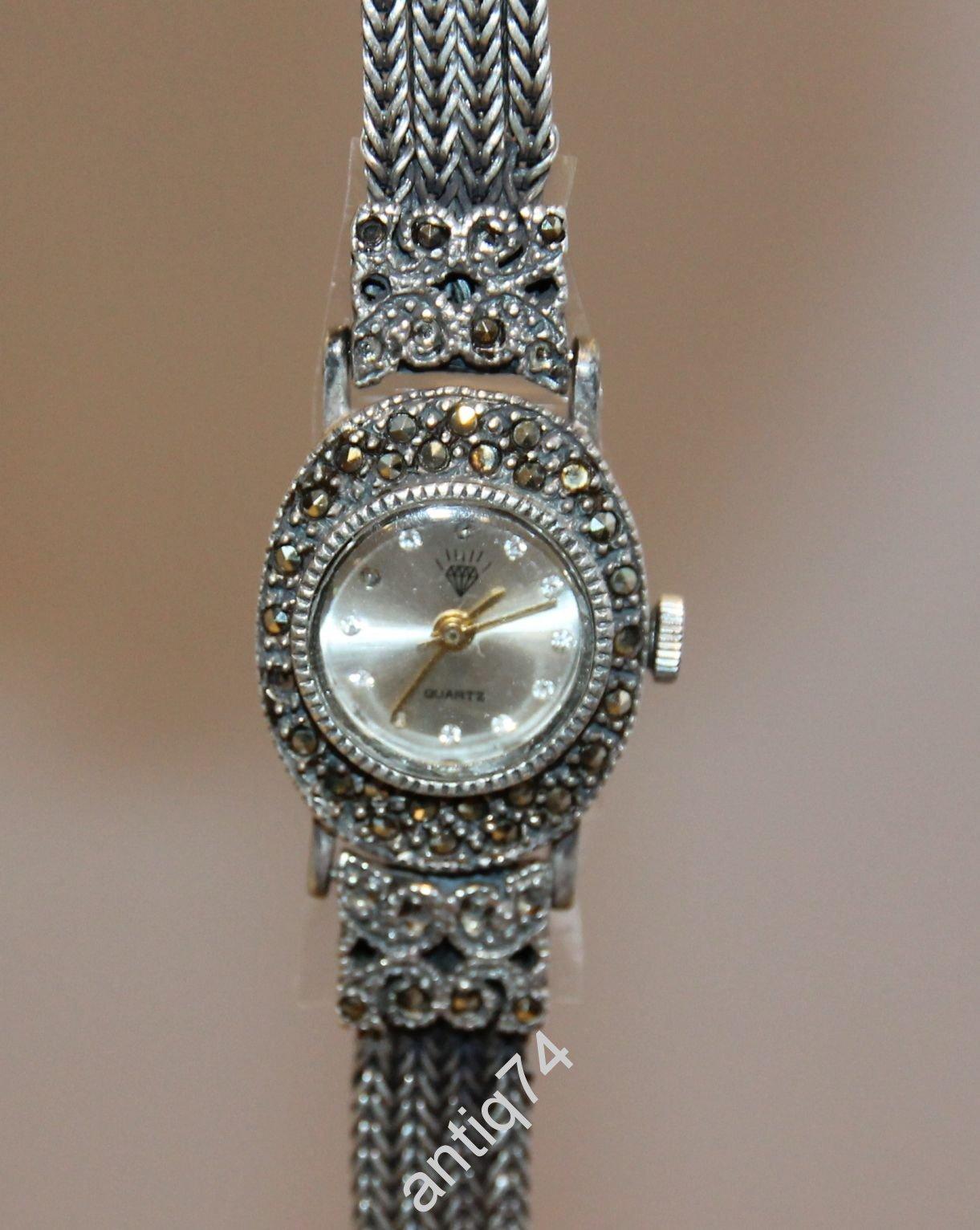 a56524e6 женские часы. Серебро 925 проба   Часы — Антикварный салон «Арбатъ»