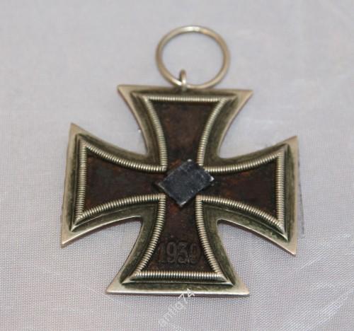 Железный крест 2-го класса. Подлинный! 3-й рейх.