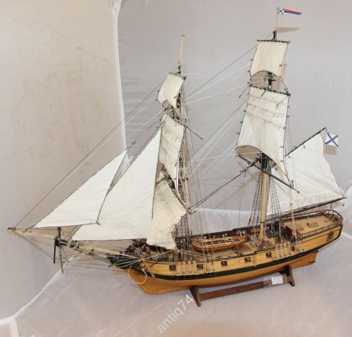 модель корабля - Бригантина Феникс адмирала Ушакова