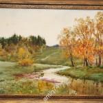 Пишо Сергей Иванович (1892 - после 1930) Красивая акварель