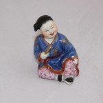 Китайская девочка с дудочкой. Китаянка. Китай, 50-е годы
