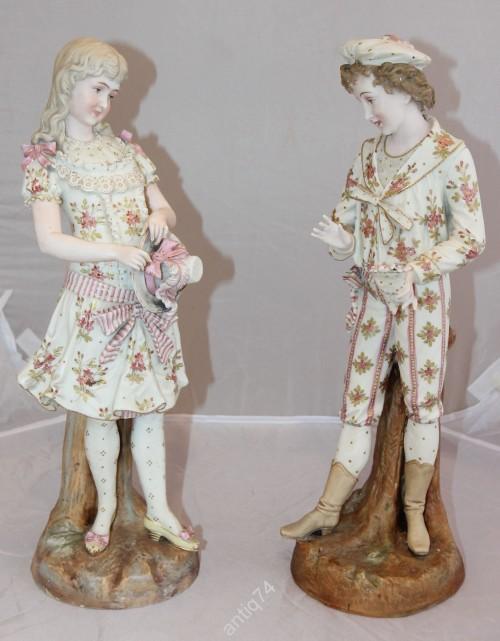 парные статуэтки Drezden Area Decorating Studio, Германия