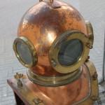 Большой водолазный шлем, колокол. СССР