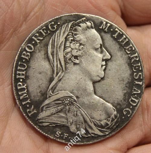 Талер Императрица Тереза. 1780 год. Австрия