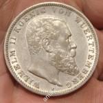 Вильгельм 2-й. 3 марки, 1909 год