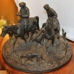Охотники, охота, гончие. Лансере. Касли, 1907 год