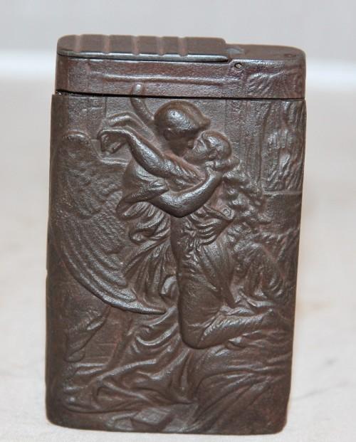 Портсигар чугунный, Касли до 1917г.