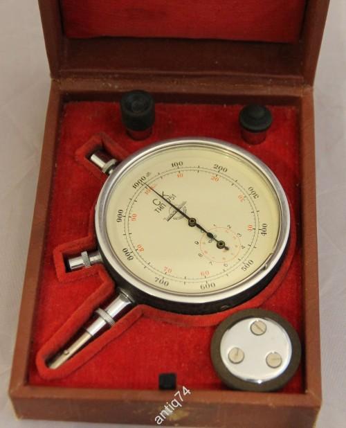 Часовой тахометр СК. 1967 год. В коробке, с инструкцией