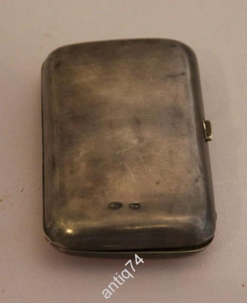 Портсигар, кошелёк. серебро 84 проба. Гладкий с обеих сторон.