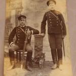 Фото. Солдаты, офицеры с шашками, драгунками