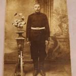 Фото. Солдат с тесаком