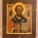 икона Николай Чудотворец, прекрасное письмо