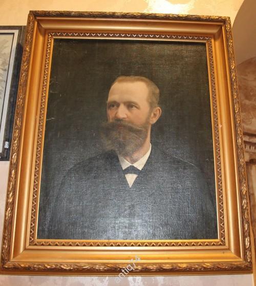 портрет министра-реформатора С.Ю. Витте. Подписной. 1900г