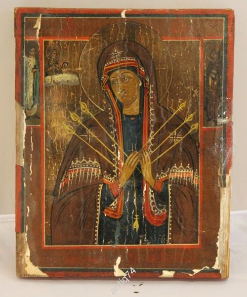 икона Богоматерь Семистрельная