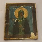 икона-миниатюра. Св. Евдокия.