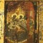 икона Рождество Богородицы. Золото