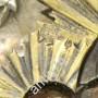 икона Богоматерь Владимирская. Оклад серебро, 84 пр. 1863 год