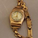Часы Звезда, женские, с браслетом. Золото 583 проба.