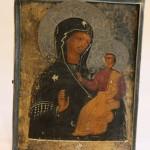 Икона в басменном окладе. 84 пр. Богоматерь Смоленская