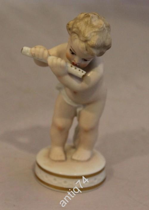Путти, играющий на флейте. Германия