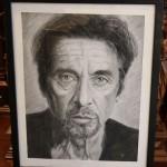 Аль Пачино. портрет, графика