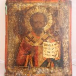 икона Николай Чудотворец. 36 на 30 см